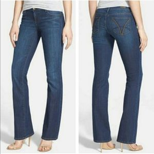 Kut from the Kloth Farrah Baby Boot Cut Jeans 6